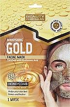 Parfémy, Parfumerie, kosmetika Výživná maska na obličej - Beauty Formulas Gold Norishing Facial Mask