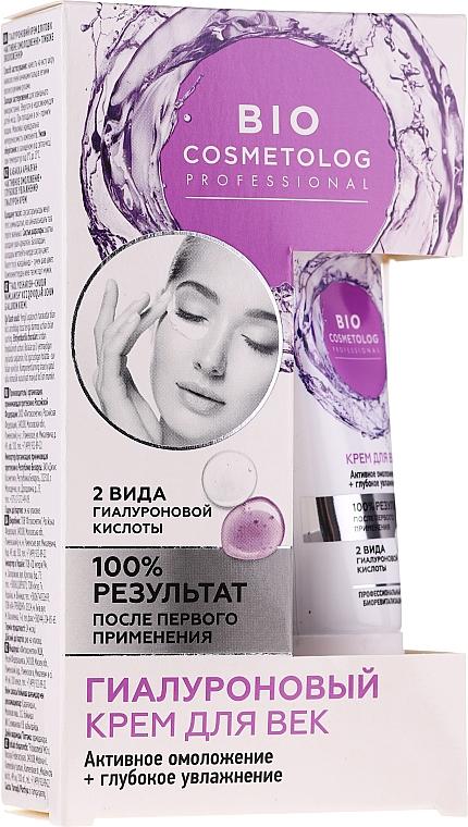 Krém na oční víčka - Fito Kosmetik BioCosmetolog Prof