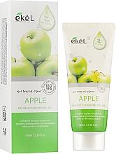 Parfémy, Parfumerie, kosmetika Peelingový pleťový gel Jablko - Ekel Apple Natural Clean Peeling Gel
