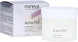 Parfémy, Parfumerie, kosmetika Noční krém proti vráskám - Noreva Laboratoires Alpha KM Night Cream Corrective Anti-Wrinkle Care