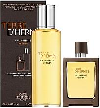 Parfémy, Parfumerie, kosmetika Hermes Terre D'Hermes Eau Intense Vetiver - Sada (edp/30 ml + edp/125 ml)