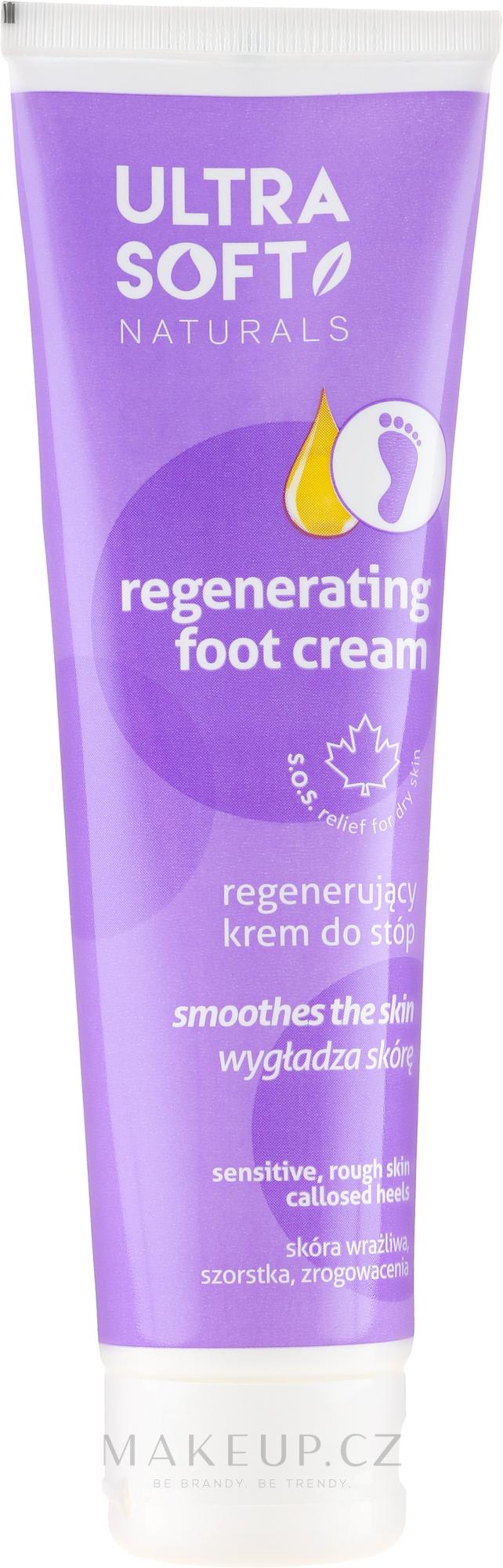Regenerační krém na nohy - Ultra Soft Naturals Regenerating Foot Cream Smoothes — foto 100 ml