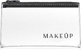 """Parfémy, Parfumerie, kosmetika Transparentní kosmetická taštička """"Flat Glow"""" 20x10cm - MakeUp"""