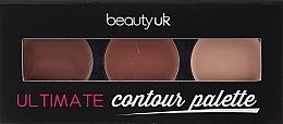 Parfémy, Parfumerie, kosmetika Paletka tvářenek - Beauty Uk Shimmer Box (Bronze)