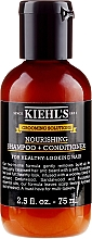 Parfémy, Parfumerie, kosmetika Šampon -kondicionér na vlasy - Kiehl`s Grooming Solutions Nourishing Shampoo + Conditioner