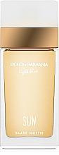 Parfémy, Parfumerie, kosmetika Dolce&Gabbana Light Blue Sun Pour Femme - Toaletní voda