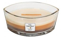 Parfémy, Parfumerie, kosmetika Vonná svíčka ve sklenici - WoodWick Trilogy Ellipse Cafe Sweets