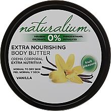 Parfémy, Parfumerie, kosmetika Tělový olej - Naturalium Vainilla Extra Nourishing Body Butter