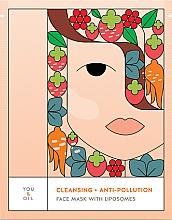 Parfémy, Parfumerie, kosmetika Čisticí pleťová maska - You & Oil Cleansing & Anti-Pollution Face Mask With Liposomes