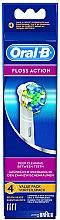 Parfémy, Parfumerie, kosmetika Výměnná hlava na elektrický zubní kartáček Floss Action EB 25, 4ks - Oral-B
