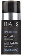Parfémy, Parfumerie, kosmetika Aktivní krém proti stárnutí - Matis Reponse Homme Global Anti-Aging active cream