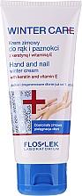Parfémy, Parfumerie, kosmetika Zimní ochranný krém na ruce a nehty - Floslek Winter Care Hand And Nail Winter Cream