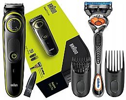 Parfémy, Parfumerie, kosmetika Zastřihovač vousů a vlasů - Braun BT 3941