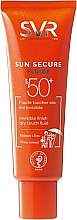 Parfémy, Parfumerie, kosmetika Opalovací fluid - SVR Sun Secure Dry Touch Fluid SPF 50
