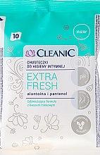 Parfémy, Parfumerie, kosmetika Ubrousky pro intimní hygienu, 10 ks - Cleanic Intensive Care Wipes