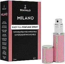 Parfémy, Parfumerie, kosmetika Plnitelný rozprašovač parfémů - Travalo Milano Pink Rose