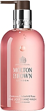 Parfémy, Parfumerie, kosmetika Molton Brown Rhubarb & Rose Hand Wash - Tekuté mýdlo na ruce