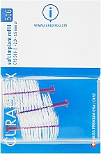 Parfémy, Parfumerie, kosmetika Sada mezizubních kartáčků, CPS 516, 3 ks - Curaprox Soft Implant