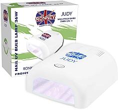 Parfémy, Parfumerie, kosmetika Lampa na nehty UV, bílá - Ronney Profesional Judy UV 36W (GY-UV-230) Lamp