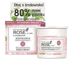 Parfémy, Parfumerie, kosmetika Omlazující pleťový krém s růží - Floslek Rose For Skin Rose Rejuvenating Rose Cream