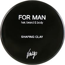 Parfémy, Parfumerie, kosmetika Modelovací hlína pro úpravu vlasů - Vitality's For Man Shaping Clay