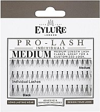 Parfémy, Parfumerie, kosmetika Umělé řasy - Eylure Black Individual Pro Medium Length Lashes