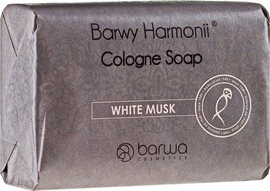 Mýdlo s bílým pižmovým extraktem - Barwa Harmony White Musk Soap