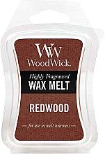 Parfémy, Parfumerie, kosmetika Voňavý vosk - WoodWick Wax Melt Redwood