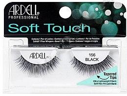 Parfémy, Parfumerie, kosmetika Umělé řasy - Ardell Soft Touch Eye Lashes Black 156