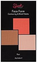 Parfémy, Parfumerie, kosmetika Paleta na tvarování obličeje - Sleek Makeup Face Form Ultimate Contour Kit Fair
