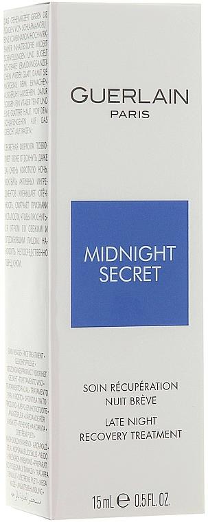 Povzbuzující noční sérum - Guerlain Midnight Secret Late Night Recovery Treatment — foto N1