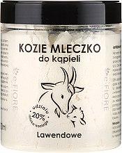 Parfémy, Parfumerie, kosmetika Kozí mléko do koupele Levandule - E-Fiore Lavender Bath Milk