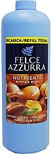 Parfémy, Parfumerie, kosmetika Tekuté mýdlo - Felce Azzurra Nutriente Amber & Argan (náhradní náplň)