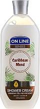 """Parfémy, Parfumerie, kosmetika Krémový sprchový gel """"Karibská nálada"""" - On Line Caribbean Mood Shower Cream"""