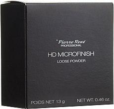Parfémy, Parfumerie, kosmetika Sypký pudr s HD efektem - Pierre Rene Professional HD Microfinish Loose Powder