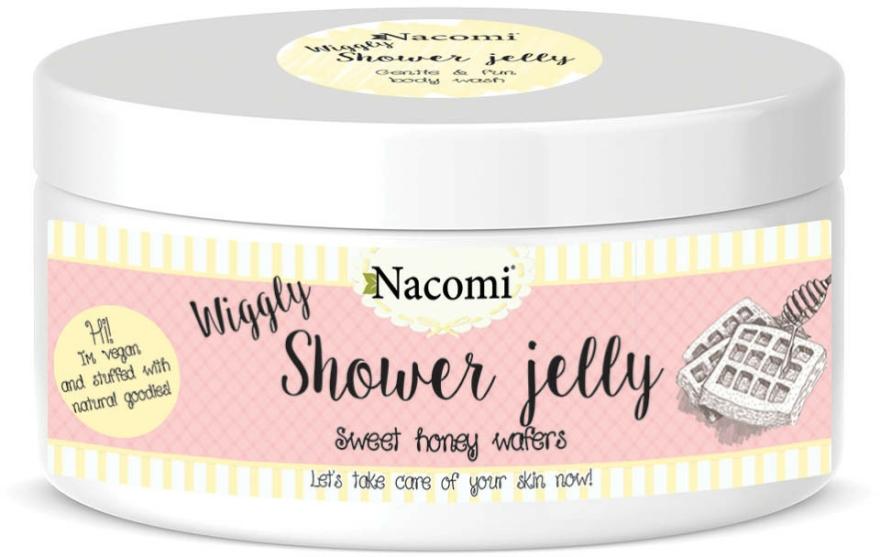 """Sprchový gel-želé """"Sladké medové vafle"""" - Nacomi Shower Jelly Sweet Honey Wafers — foto N1"""