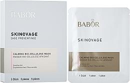 Parfémy, Parfumerie, kosmetika Biocelulární maska pro citlivou pleť - Babor Skinovage Calming Bio-Cellulose Mask