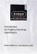Parfémy, Parfumerie, kosmetika Ubrousek pro intimní hygienu uklidňující - Ziaja Med