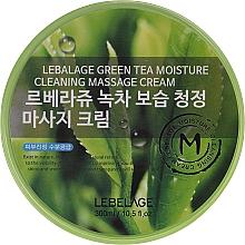 Parfémy, Parfumerie, kosmetika Masážní pleťový krém - Lebelage Green Tea Moisture Cleaning Massage Cream