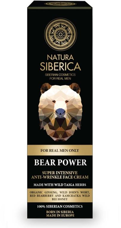 Krém na obličej - Natura Siberica Bear Power Super Intensive Anti-Wrinkle Face Cream — foto N1