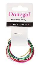 Parfémy, Parfumerie, kosmetika Tenké gumičky na vlasy, FA-9911, 12 ks - Donegal