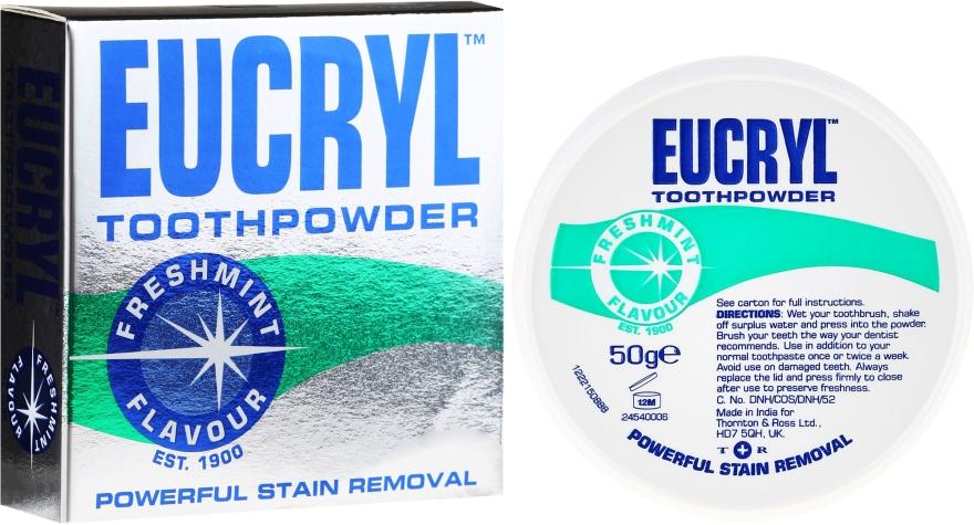 Zubní prášek - Eucryl Toothpowder Freshmint