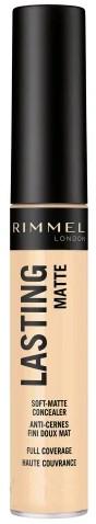 Matující korektor - Rimmel London Lasting Matte Concealer