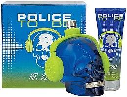 Parfémy, Parfumerie, kosmetika Police To Be Mr Beat - Sada (edt/75ml + sh/gel/100ml)