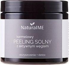 Parfémy, Parfumerie, kosmetika Solný peeling na tělo Karamel - NaturalME