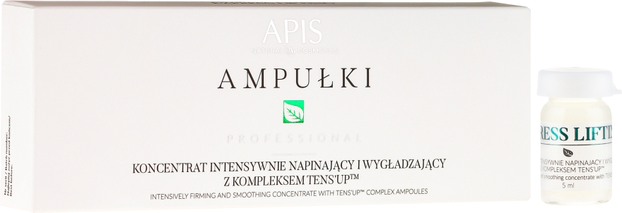Koncentrát na obličej - APIS Professional Concentrate Ampule Ten's Up