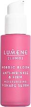 Parfémy, Parfumerie, kosmetika Posilující a utahovací pleťové sérum - Lumene Lumo Nordic Bloom Anti-wrinkle & Firm Moisturizing V-Shape Serum