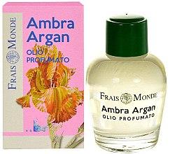 Parfémy, Parfumerie, kosmetika Parfémový olej - Frais Monde Ambra Argan Perfume Oil