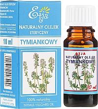 Parfémy, Parfumerie, kosmetika Přírodní éterický olej Mateřídouška - Etja Natural Essential Oil