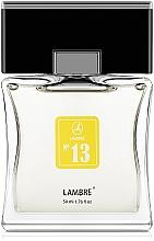 Parfémy, Parfumerie, kosmetika Lambre № 13 - Toaletní voda